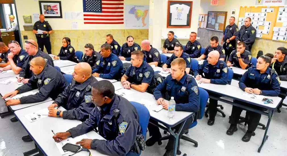 Massachusetts police officers graduation